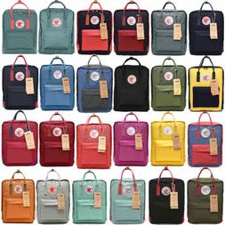 20/16/7 Fjallraven Kanken Backpack Handbag Travel SchoolBag
