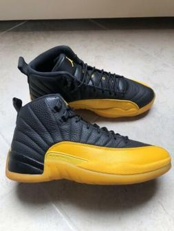 NIKE AIR JORDAN 12 XII RETRO UNIVERSITY GOLD YELLOW BLACK 13