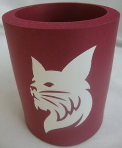 BATES COLLEGE FOAM INSULATOR CAN OR BOTTLE COOZIE SCHOOL LOG