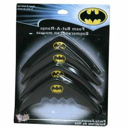 Batman DC Comics Superhero Batarangs Party Favors Foam Bat-A
