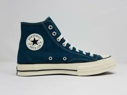 Converse Chuck Taylor 70s Suede High Top 166214C Green Blue