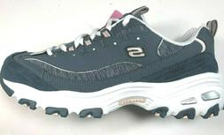 Skechers D'Lites / Air Cooled / Memory Foam / Slate Grey / W
