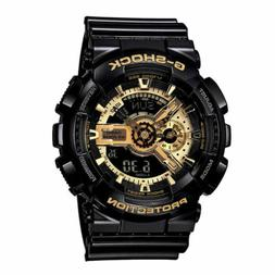 Casio G-Shock Digital Anti-Magnetic Black Mens Watch GA110GB