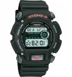 Casio G-Shock Men's Quartz Chronograph Black Resin Band 48.5