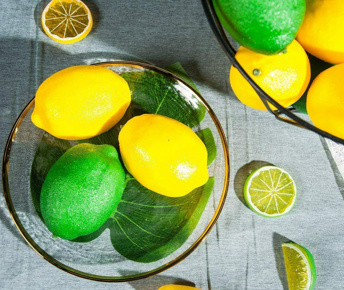 20 PCS Fake Fruit and Limes for Home Decoration