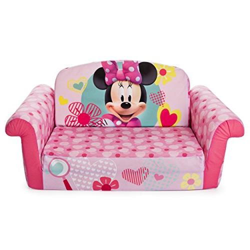 Marshmallow Furniture, in Flip Open Foam Minnie Mouse, by Spin