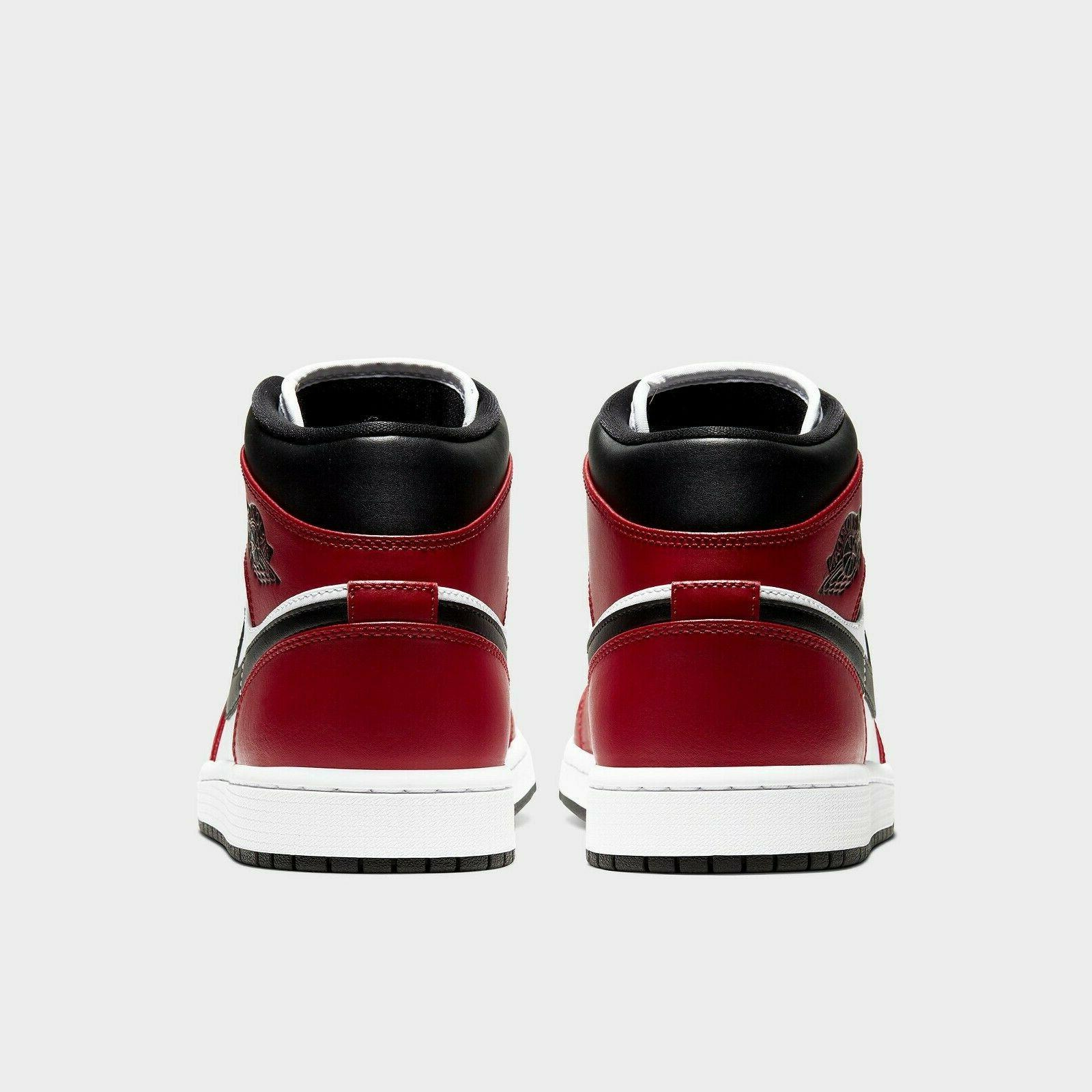 Air Black Toe Bred Retro Red White 554724-069