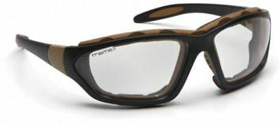 Carhartt Carthage Safety Glasses/Goggles Black Frame Clear A