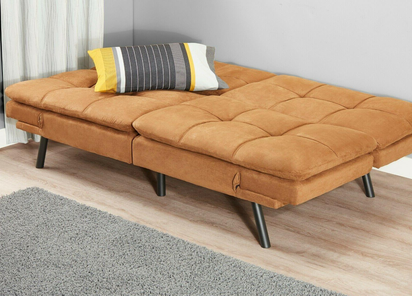 Memory Futon Bed Couch Sleeper Foldable Loveseat FULL