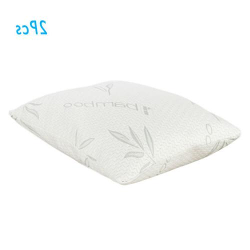 Set of 2 Shredded Bed Pillows Size
