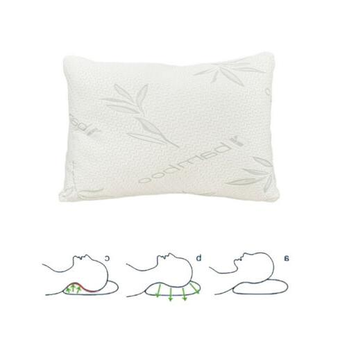 Set Shredded Bed Pillows Hypoallergenic Cover Size