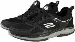Skechers Men's Burst Slip-On Memory Foam Athletic Shoes Blac