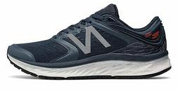 New Balance Men's Fresh Foam 1080V8 Shoes Navy With Blue