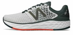 New Balance Men's Fresh Foam Vongo v3 Shoes White with Blue