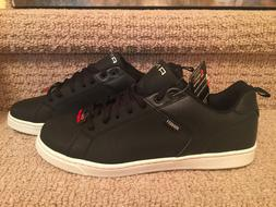 AND1 Men's Low Top Memory Foam Lace Up Black Athletic / Bask