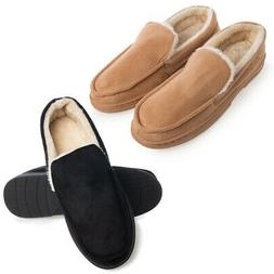 Gold Toe Mens House Slippers Memory Foam For Men Indoor Outd