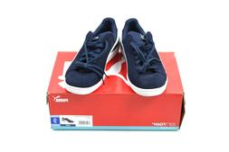 PUMA Smash Leather Suede Sneaker Mens Casual Athletic Shoe N