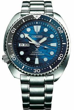 Seiko SRPD21 Prospex Save The Ocean White Shark Blue Automat