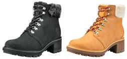 Timberland Woman's Kinsley Water Proof Leather Boots Memory