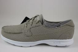 Skechers Women's Go Step-Keen Taupe 14422/TPE With Goga Max