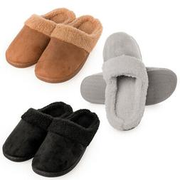 Gold Toe Womens House Slippers Soft Memory Foam With Sole Co